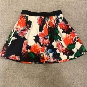 This is a floral skirt from derhy kids.